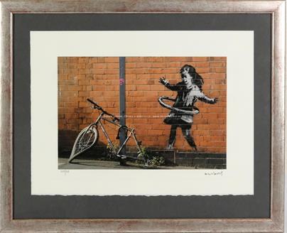 Banksy - Nottingham - Young girl