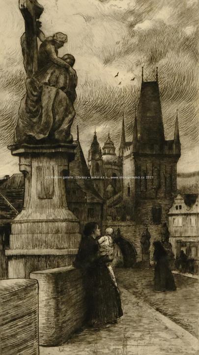 Heinrich Jakesch - Konvolut 3 pragensií