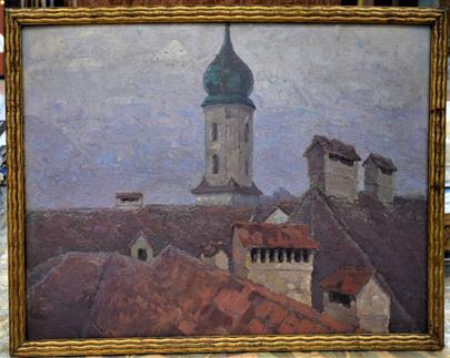 Schustala Julius  - Brněnské střechy