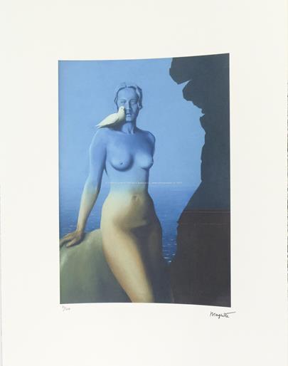 René Magritte - Holubice