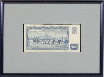 .. - Pamětní list k Banknote Printers konferenci,Praha 2001