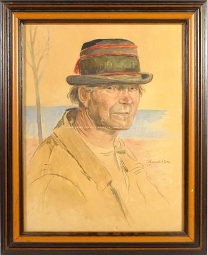 Josef Koudelka - Muž v klobouku
