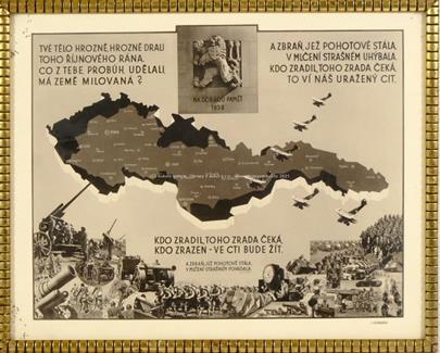 J. Vondrák, J. V. Sedlák - Plakát Na dobrou paměť 1938