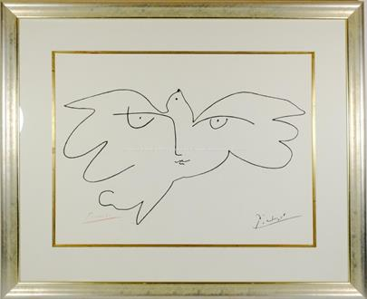 Pablo Picasso - Holubice míru