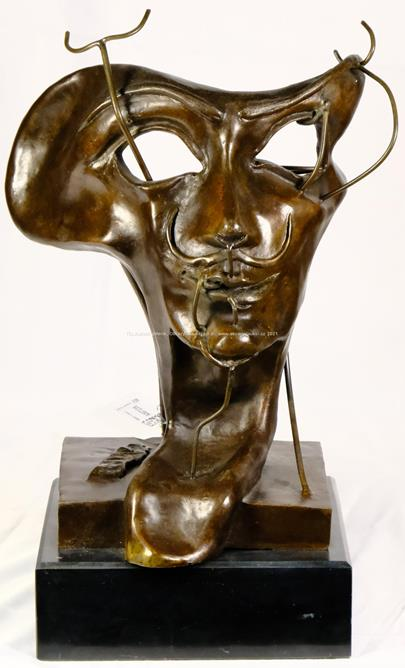 Salvador Dalí - Soft self portrait