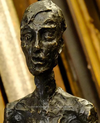 Alberto Giacometti - KRÁČEJÍCÍ MUŽ - VÝŠKA 120 CM!!!