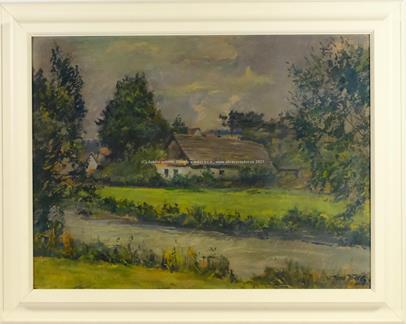 Veno Veselý - Chalupy u řeky