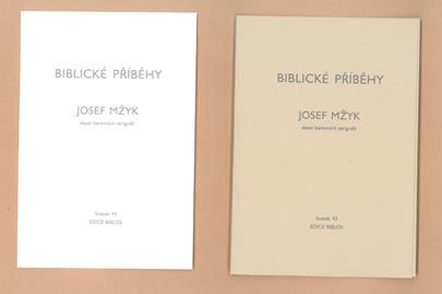 Josef Mžyk - Biblické příběhy