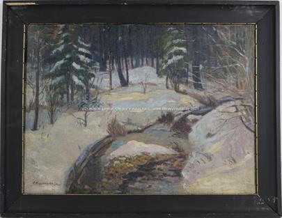 A. Procházka - Zimní les