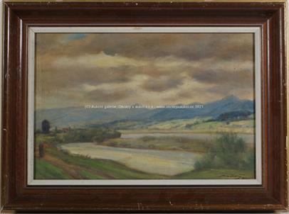 Otakar Sedloň - U řeky