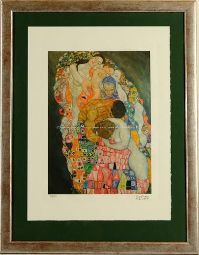 Gustav Klimt - Death and Life