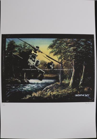 Banksy - Helicopter