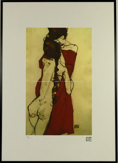 Egon Schiele - Objetí