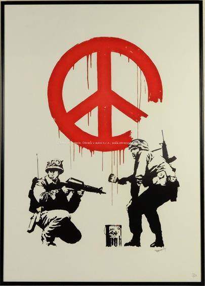 Banksy - Soldiers