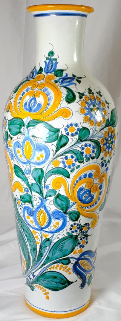 Joža Uprka - Váza s květinovým dekorem