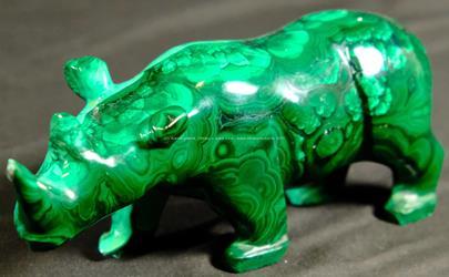 .. - Malachitový nosorožec