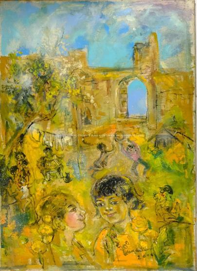 ruský malíř - Dětské hrátky