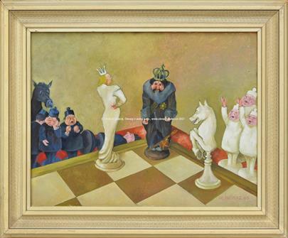 Josef Hlinomaz - Šachy