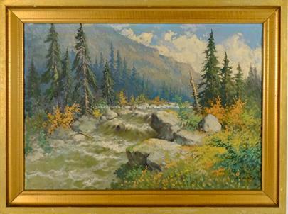 Karel Havlata - Dravá říčka v horách