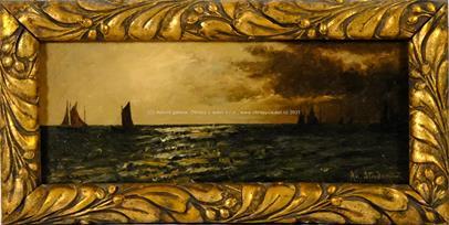 Adolf Stademann - Podvečerní plavba