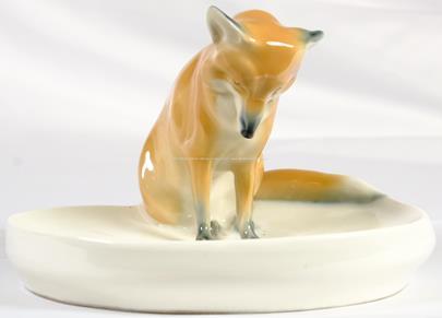 porcelánka Míšeň - Lišák