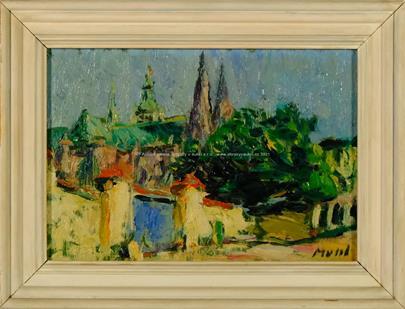 Leopold Musil - Na Pražském hradě
