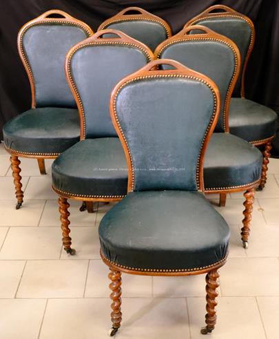 Evropa, 1. čtvrtina 20. století - 6 židlí