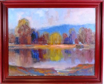 Jan Havelka - Podzimní rybník