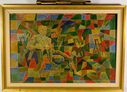 2. polovina 20.století - Postava v barevném spektru