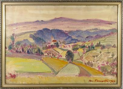 Jan Trampota - Vesnické panorama