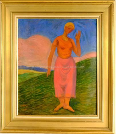 Alois Bílek - Dívka z Provance