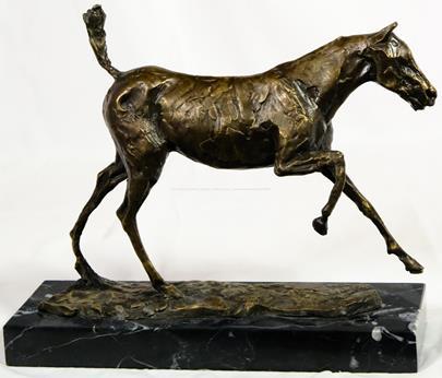 Edgar Degas - Kůň