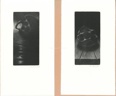 Kryštof Krejča - Konvolut 4 grafik: Pierot Messalinou uhranutý