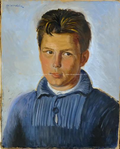 Jan Havlík - Portrét chlapce