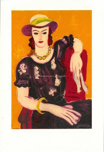 Henri Matisse - Femme a la Chaise Rouge