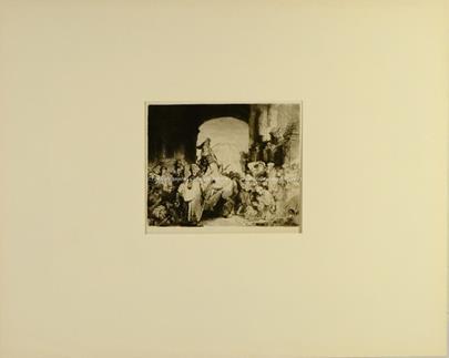 Rembrandt van Rijn - Le Triomphe de Mardochée
