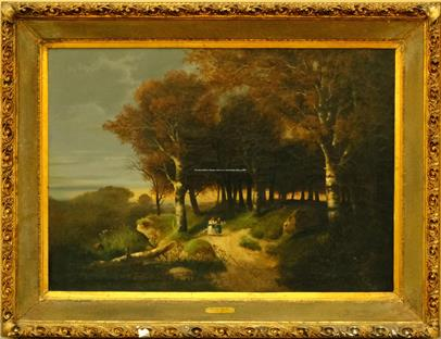 Ferdinand Lepié - Na kraji lesa