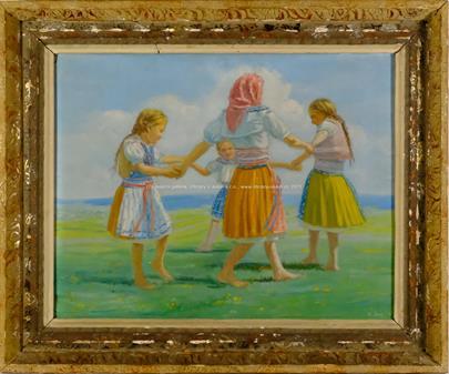 Karel Sup - Tančící dívky