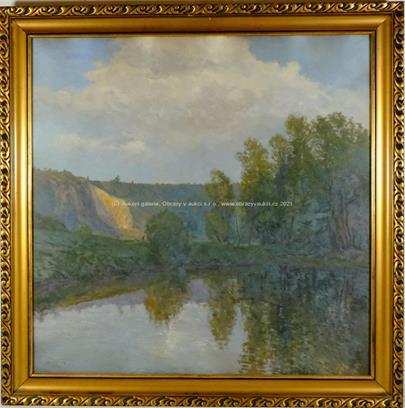 Josef Holub - Lom u řeky