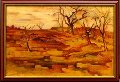 Willy Horný - Stromy v poli