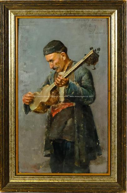 signováno azbukou nečitelně - Muzikant