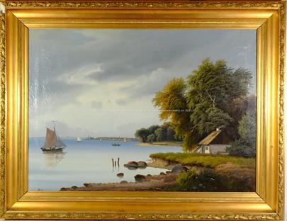 monogramováno - Na břehu jezera