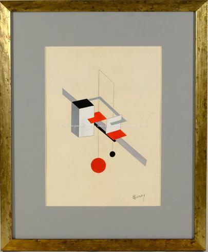 E. Lissitzky - Kompozice