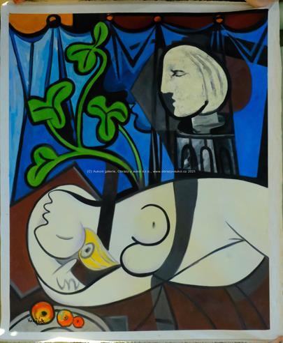Krajčík - Dora Maar podle Pabla Picassa