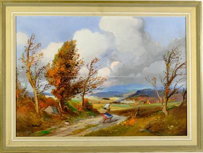 Ludvík Dobeš - Cestou v krajině