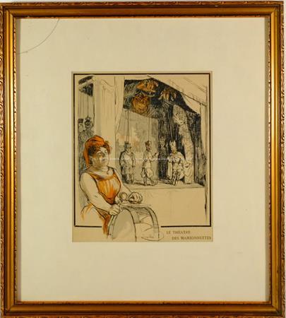 František  Kupka - Le Theatre des Marionnettess