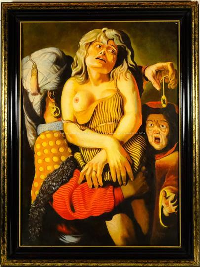 Martin Topitsch - Dívka v nesnázích