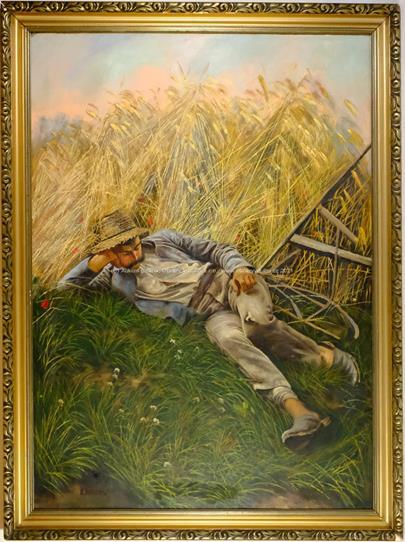 František Klimeš - Odpočinek na poli