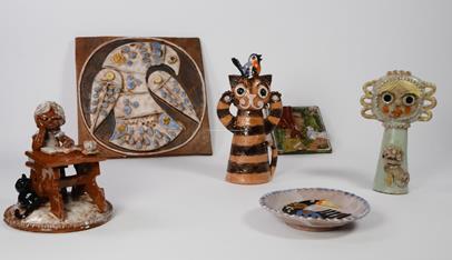 Černý Václav - Konvolut 6 keramik