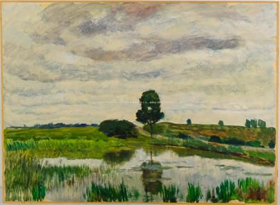 Antonín Hudeček - U rybníka